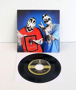 "INSANE CLOWN POSSE leck , mountain girl 7"" Record Vinyl w/ jack white stripes"
