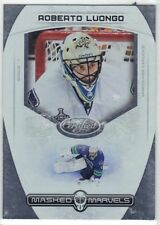 ROBERTO LUONGO GOALIE VANCOUVER CANUCKS 2011-12 CERTIFIED MASKED MARVELS #11
