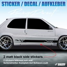 Sticker TUNING STRIPE Citroen Saxo VTS  decal aufkleber adesivi pegatina 958