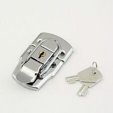 LARGE CHROME TOGGLE CASE LOCK Trunk Box Chest Suitcase Locking Latch Catch L33