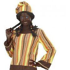 Makeup braun # Karneval Fasching schminke Farbe Afrika Neger Kostüm Party 4016