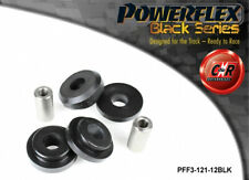 Audi Cabrio 92-00 Powerflex Black Front Subframe Rear Bushes 12mm PFF3-121-12BLK