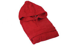 """""""BEST VALUE"""" UNISEX EXTRA SOFT 100% PURE COTTON TERRY TOWELING HOODED BATHROBES"""