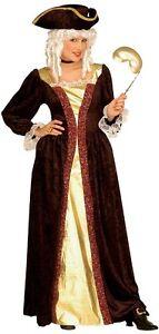 Venetian Noblewoman Lady Medieval Masquerade Ball Ladies Fancy Dres Costume S-XL