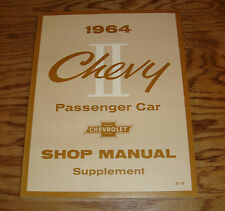1964 Chevrolet Chevy II Shop Service Manual Supplement 64