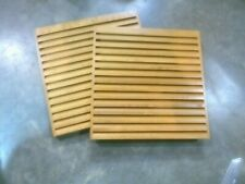 "Wood Return Air Grille/Floor Register 12""x12"" Square Edge (Qty-2) (161-F1)"