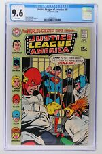 Justice League of America #81 - DC 1970 CGC 9.6 - 2nd HIGHEST GRADE!