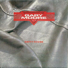 """Gary Moore - Empty rooms (7"""") 1984 FRANCE"""