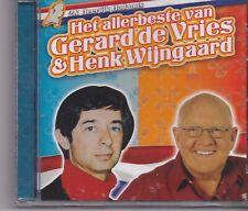 Gerard De Vries&Henk Wijngaard-Het Allerbeste Van cd album
