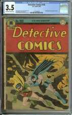 DETECTIVE COMICS #103 CGC 3.5 OW/WH PAGES // DICK SPRANG COVER
