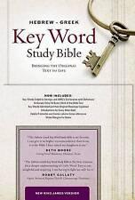 Hebrew-Greek Key Word Study Bible-NKJV by Publishers, Amg -Hcover