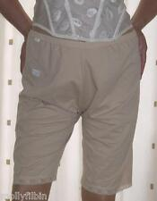 Beige long leg stretch pantie~pettipants~culottes size large/extra large  no VPL