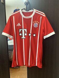 Bayern Munich Home Shirt 17/18 Size Mens Small