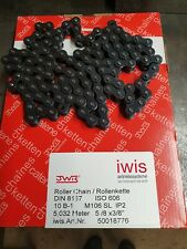 Iwis 5/8 3/8 Chain 110 pins with connecting link