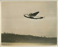 BOEING 314 FLYING BOAT LARGE VINTAGE PHOTO CLIPPER