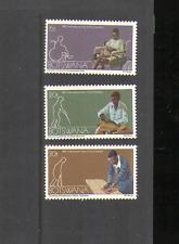 Botswana 1981 YO Disabled Person 3v set ref:n14716