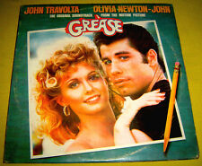 PHILIPPINES:GREASE ORIGINAL SOUNDTRACK 2 LP SET,RSO,RARE,OLIVIA NEWTON JOHN,RARE