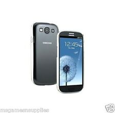 Crystal Clear Samsung Galaxy S3 SIII i9300 Hard Plastic Full Back , Snap-On Case