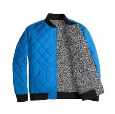The North Face NEW Blue Mens Size Large L Bomber Puffer Jester Jacket $149 #263