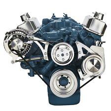 Small Block Chrysler Serpentine Conversion Kit, Power Steering (318, 340, 360)
