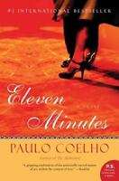 ELEVEN (11) MINUTES by Paulo Coelho FREE SHIPPING paperback book love story
