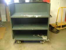 Urban Industrial Automotive Metal 3 Shelf Rolling Material Handling Cart