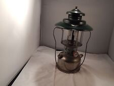 COLEMAN 1948 Model 228D Gas Pressure LANTERN excellent example Plated brass