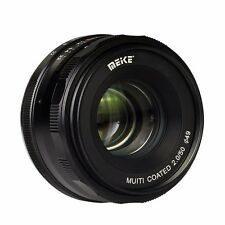 Meike MK-4/3-50mm-f/2.0 Large Aperture Manual Focus lens APS-C For 4/3 Cameras