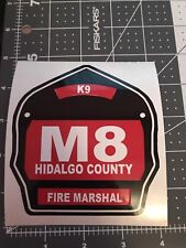 Fire Helmet Shield Vinyl Decals Firefighter Emt, Fire, Police, Window Sticker