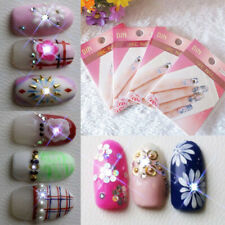 NFC nail art LED flashing light sticker with 17 decorative art stickers nai K9E3