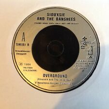 Siouxsie And The Banshees London Overground Rare 17.8cm DJ Promo EXCELLENT ÉTAT