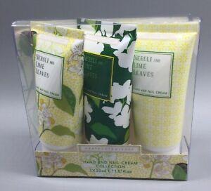 Heathcote & Ivory Hand Nail Cream Collection Neroli & Lime Leaves New