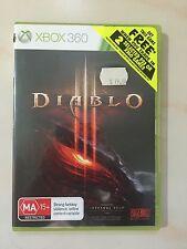 Diablo 3 Xbox 360 Game