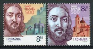 Romania Art Stamps 2020 MNH Raphael Rafaello Sanzio Renaissance Painter 2v Set