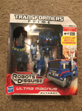 Transformers Prime RID Voyager Class Ultra Magnus MISB New Robots In Disguise