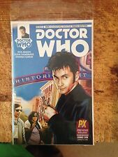 Doctor Who Sdcc Variant 2014 Zhang Cover 10th Doctor #1