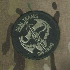 États-unis Marine Udt Spéciale Guerre Seal Team 5 ST5 Insignes Patch : Oif-Iraq