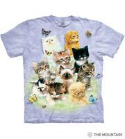 The Mountain 100% Cotton Kid's T-Shirt - 10 Kittens (Size: Medium) NWT