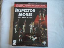 BRAND NEW & SEALED 550 PIECE INSPECTOR MORSE THE KING'S MEN MYSTERY PUZZLE GAME