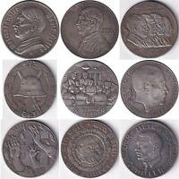 №4 Exonumia set of 9 token Germany. third Reich. Adolf Hitler.