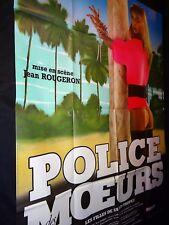 POLICE DES MOEURS   affiche cinema