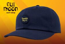 0f054d11cc5 New Brixton Wheeler Navy Mens Strapback Relaxed fit Hat Cap