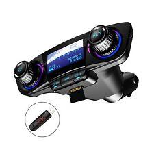Bluetooth FM Transmitter Car MP3 Player Hands-Free Car Kit Wireless Radio Aud...