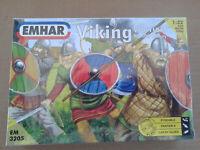 Emhar Models Viking Warriors 9th-10th Century Model Building Kit