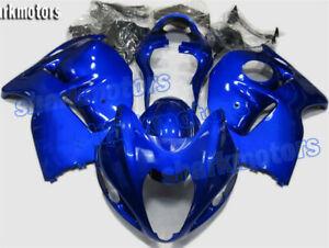 Fairing Kit Bodywork Injection ABS Fit for 99-07 Suzuki GSX-R 1300 Hayabusa Blue