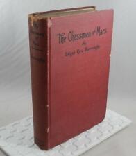 The Chessmen of Mars by Edgar Rice Burroughs 1922 Hardbound Book B0137