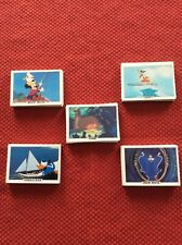 New listing 1982 Mickey Mouse Treat Hobby Products All 5 Series Complete Great Condition