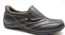 Naturalizer Brown Leather Wedge Loafers Shoes 6.5M 6.5 MSRP $89 NEW