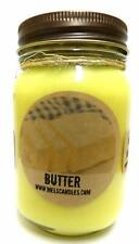 Butter 16 Ounce Country Jar Handmade Soy Candle