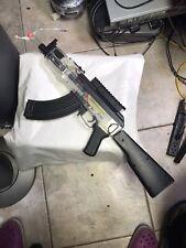 Crosman Pulse R76 Tactical Airsoft Rifle AK Semi/Full Auto Loose Stock Work Good